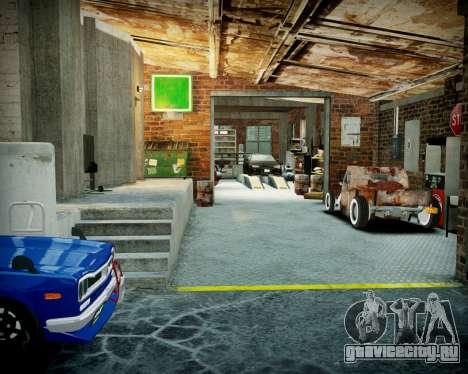 Гараж с новым интерьером в Алкогвине для GTA 4 девятый скриншот