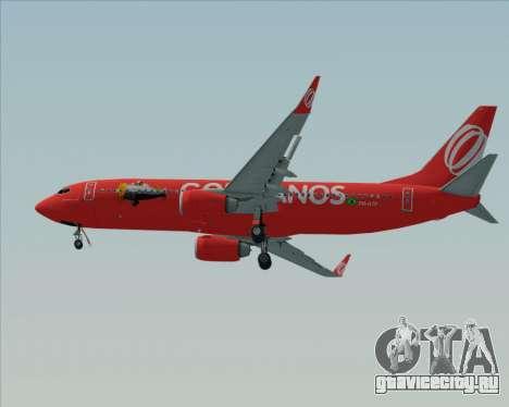 Boeing 737-800 Gol Transportes Aéreos для GTA San Andreas вид изнутри