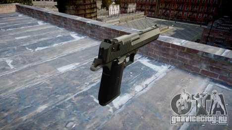 Пистолет IMI Desert Eagle Mk XIX Black для GTA 4 второй скриншот