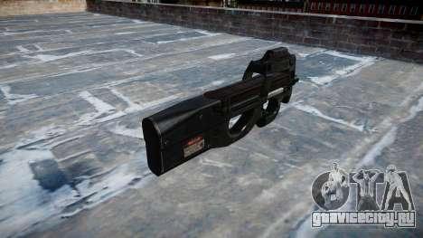 Пистолет-пулемёт Fabrique Nationale P90 для GTA 4 второй скриншот