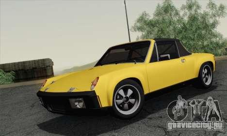 Porsche 914 для GTA San Andreas