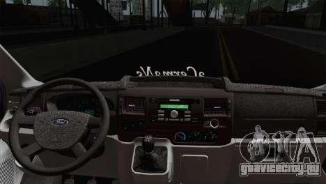 Ford Transit ACERMANS RC для GTA San Andreas вид сзади слева
