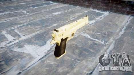 Пистолет Desert Eagle PointBlank Gold для GTA 4