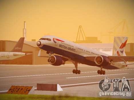 Boeing 757-236 British Airways для GTA San Andreas