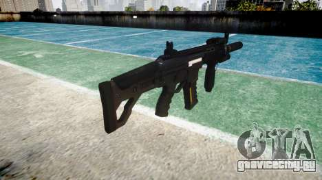 Автомат LK-05 Vertical Grip icon3 для GTA 4 второй скриншот