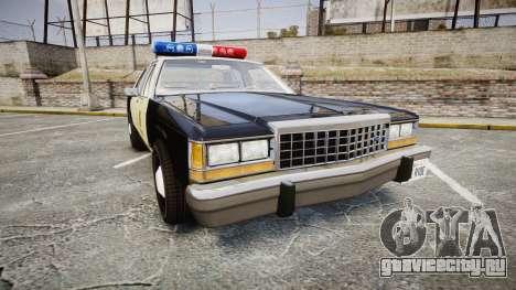 Ford LTD Crown Victoria 1987 LAPD [ELS] для GTA 4