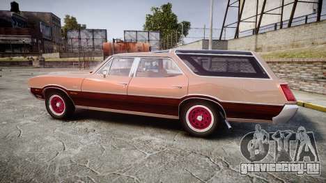 Oldsmobile Vista Cruiser 1972 Rims1 Tree4 для GTA 4 вид слева