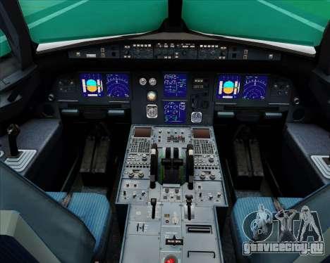 Airbus A321-200 Turkish Airlines для GTA San Andreas салон