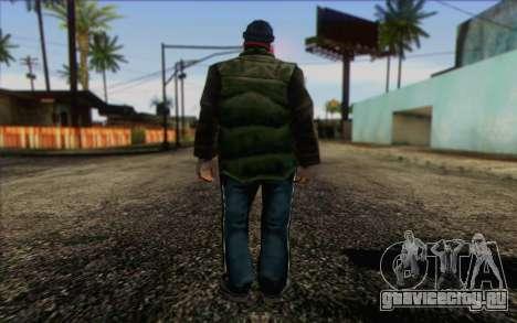 Vagabonds Skin 1 для GTA San Andreas второй скриншот