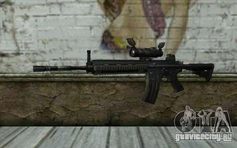 HK416 (Bump mapping) v1 для GTA San Andreas