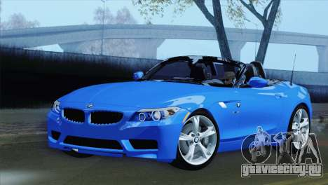 BMW Z4 sDrive28i 2012 Stock для GTA San Andreas