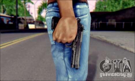 Beretta M92F для GTA San Andreas третий скриншот