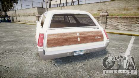 Oldsmobile Vista Cruiser 1972 Rims1 Tree3 для GTA 4 вид сзади слева