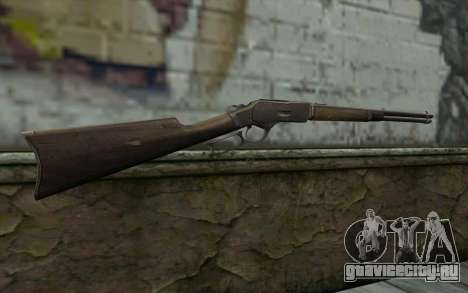Winchester 1873 v4 для GTA San Andreas второй скриншот
