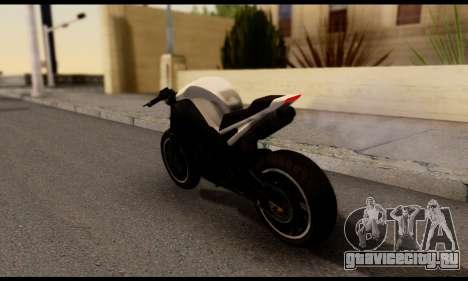 TBOGT Akuma для GTA San Andreas вид слева