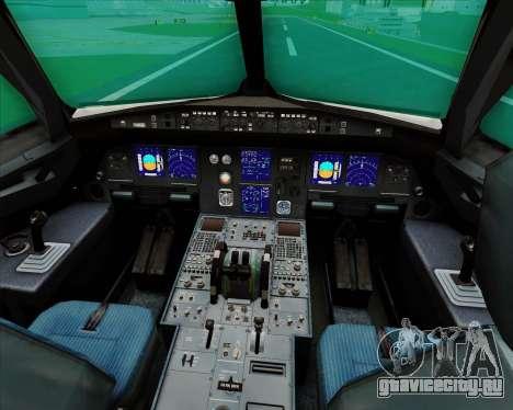 Airbus A321-200 Qantas для GTA San Andreas салон