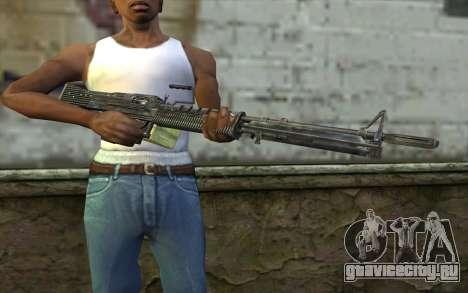 M60 from Battlefield: Vietnam для GTA San Andreas третий скриншот