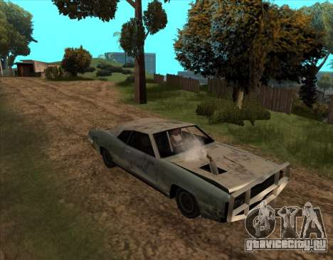 Постапокалиптический Buccaneer для GTA San Andreas вид справа