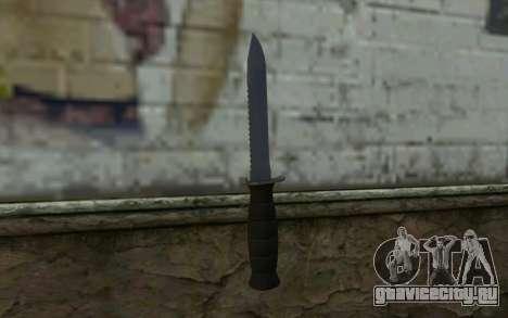 Боевой нож (DayZ Standalone) v2 для GTA San Andreas второй скриншот