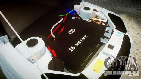 ВАЗ-2170 Приора на дисках для GTA 4 вид изнутри