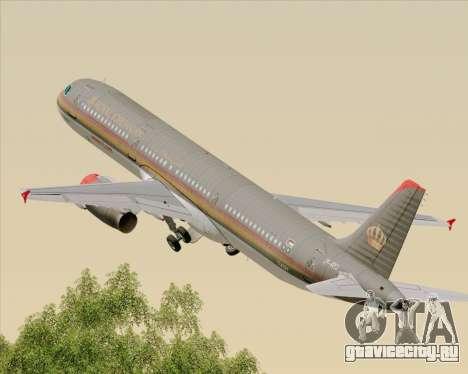 Airbus A321-200 Royal Jordanian Airlines для GTA San Andreas