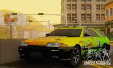 GTA 5 Stratum для GTA San Andreas салон