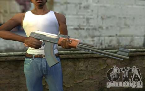 AK47 from Beta Version для GTA San Andreas третий скриншот