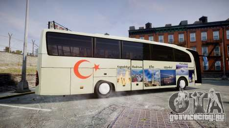 Mercedes-Benz Travego Turkey для GTA 4 вид слева