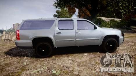 Chevrolet Suburban [ELS] Rims2 для GTA 4 вид слева