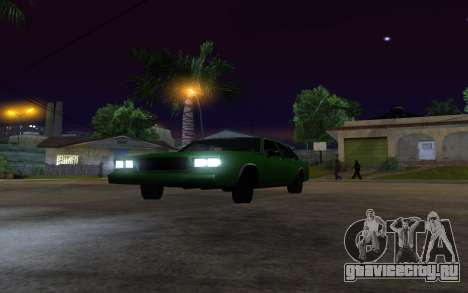 Tahoma Restyle для GTA San Andreas вид справа