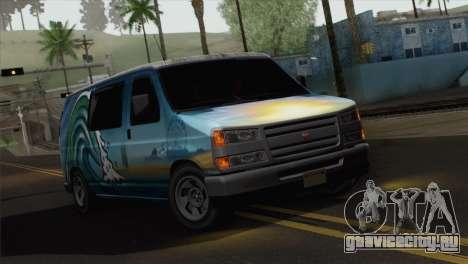 Bravado Paradise для GTA San Andreas вид сзади слева