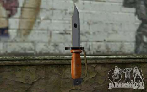 Knife from Half - Life Paranoia для GTA San Andreas второй скриншот