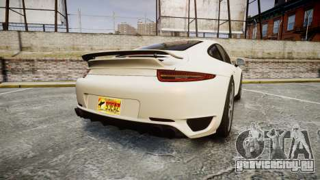 Ruf RGT-8 для GTA 4 вид сзади слева