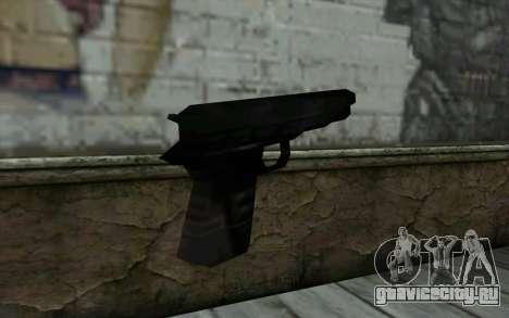 Pistol from Cutscene для GTA San Andreas второй скриншот