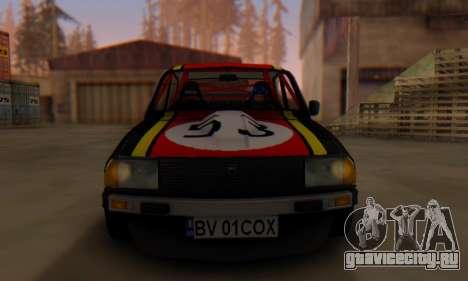 Dacia 1410 Sport для GTA San Andreas вид сзади слева