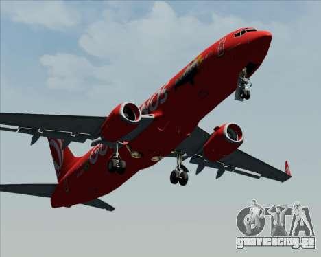 Boeing 737-800 Gol Transportes Aéreos для GTA San Andreas вид сверху