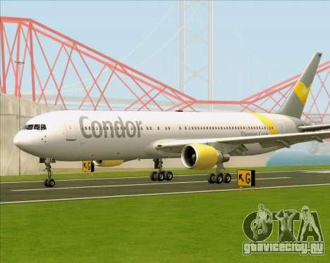 Boeing 767-330ER Condor для GTA San Andreas вид слева