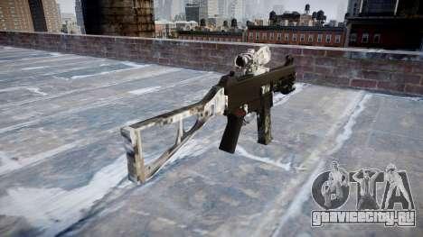Пистолет-пулемёт UMP45 Ghotex для GTA 4 второй скриншот
