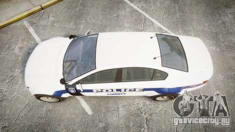 GTA V Cheval Fugitive LS Liberty Police [ELS] Sl для GTA 4 вид справа