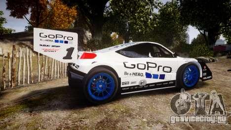 Suzuki Monster Sport SX4 2011 для GTA 4 вид слева