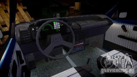 Fiat Uno для GTA 4 вид изнутри