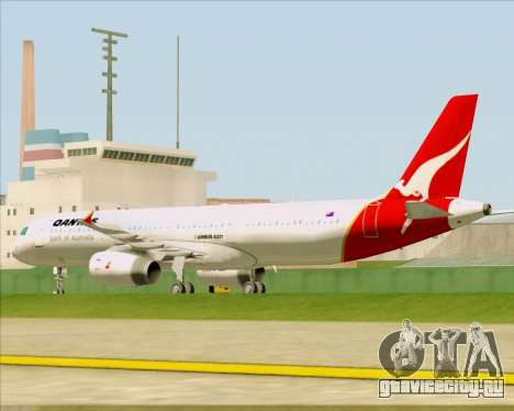 Airbus A321-200 Qantas для GTA San Andreas вид сбоку