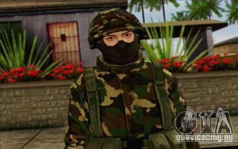 The Expendables 2 Enemy для GTA San Andreas третий скриншот
