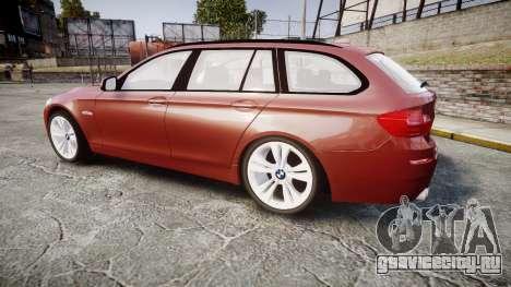 BMW 530d F11 для GTA 4 вид слева