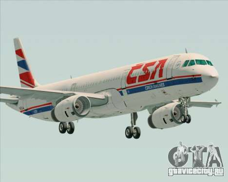 Airbus A321-200 CSA Czech Airlines для GTA San Andreas