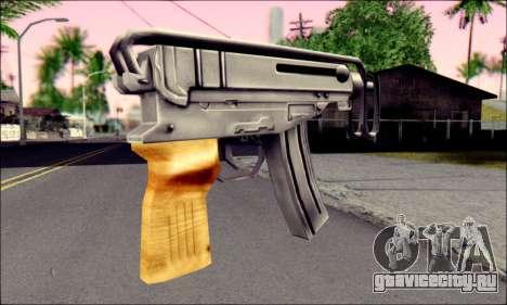 Škorpion vz. 61 для GTA San Andreas второй скриншот