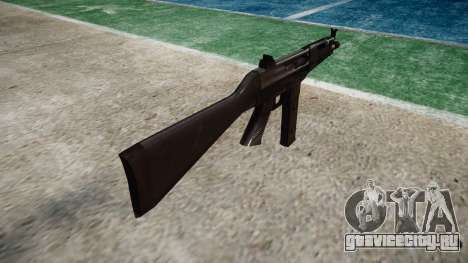 Пистолет-пулемет Taurus MT-40 buttstock1 icon3 для GTA 4 второй скриншот