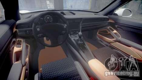 Ruf RGT-8 для GTA 4 вид изнутри