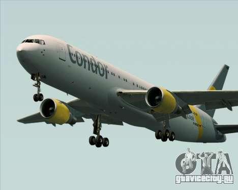 Boeing 767-330ER Condor для GTA San Andreas колёса