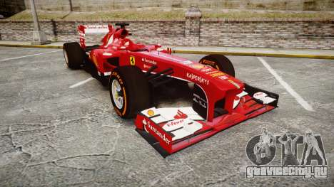 Ferrari F138 v2.0 [RIV] Alonso THD для GTA 4